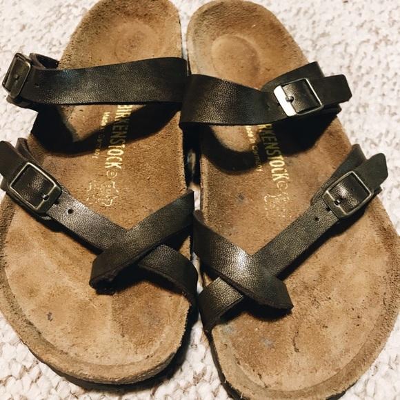3fc1bf535659 Birkenstock Shoes - Olive Green Mayari Birkenstocks
